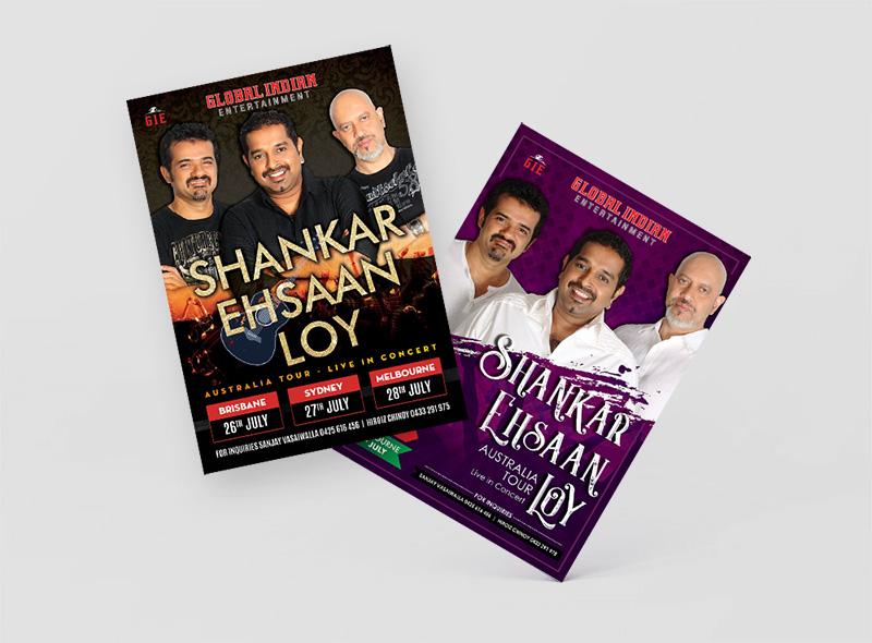 Shankar Ehsaan Loy in Australia