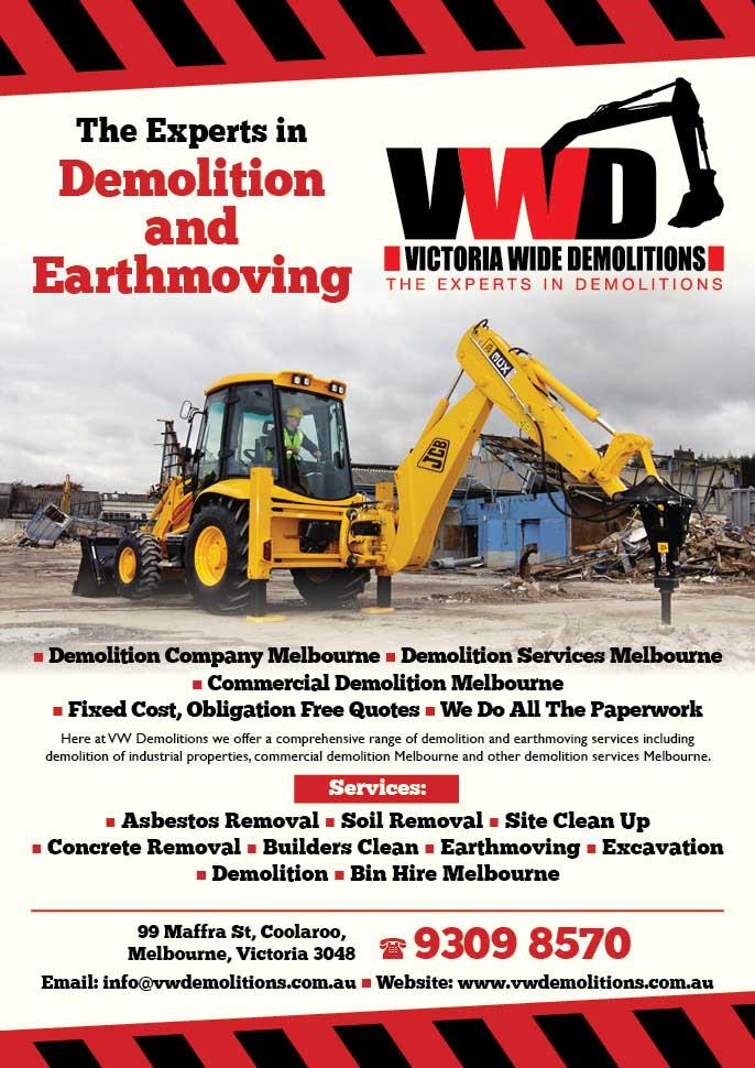 Victoria Wide Demolition